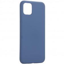"Чехол-накладка силиконовая K-Doo iCoat Liquid Silicone для iPhone 11 Pro Max (6.5"") Синий"