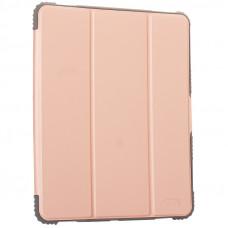 """Чехол-подставка Mutural Folio Case Elegant series для iPad Pro (12.9"""") 2021г. кожаный (MT-P-010504) Розовое золото"""