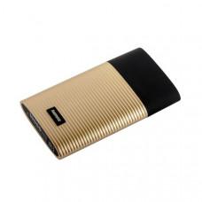 Аккумулятор внешний универсальный Remax RPP 27- 10000 mAh Perfume power bank (2USB: 5V-2.1A) Gold Золотой