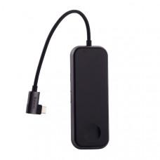 Переходник Baseus HUB с беспроводным зарядным устройством для Watch (CAHUB-AZ0G) Type-C to USB3.0x2/ AUX/ HDMI/ Type-C для Mac