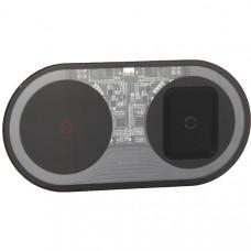 Беспроводное зарядное устройство Baseus Simple 2in1 Turbo Edition 24w - Черное (TZWXJK-A01)