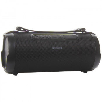 Портативная Bluetooth V5.0 колонка Remax RB-M43 Gwens Outdoor Portable Wireless Speaker Черная