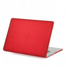 Защитный чехол-накладка BTA-Workshop для MacBook Pro Retina 15 матовая красная