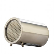 Портативный динамик COTEetCI BS-06 нержавейка Bluetooth 4.1 STEEL POWER SPEAKER 75dB CS5023-SS Серебристая