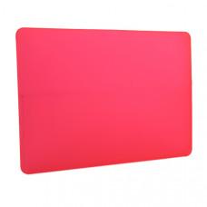Защитный чехол-накладка HardShell Case для Apple MacBook Air 13 (2018-2019г.г.) A1932 матовая красная