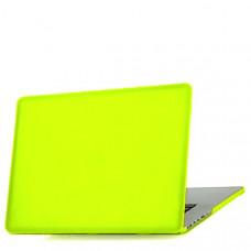 Защитный чехол-накладка BTA-Workshop для MacBook 12 Retina матовая желтая