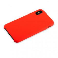 """Чехол-накладка силиконовый Hoco Silicone Case для iPhone XS/ X (5.8"""") Красный"""