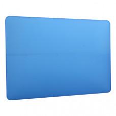 Защитный чехол-накладка HardShell Case для Apple MacBook Air 13 (2018-2019г.г.) A1932 матовая синяя