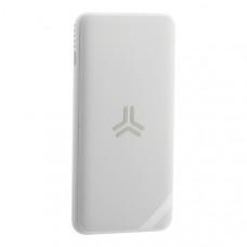 Аккумулятор внешний универсальный & беспроводное зарядное Baseus Bracket Wireless Charger (PPS10-02) 10000 mAh Белый