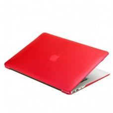 Защитный чехол-накладка BTA-Workshop для MacBook Air 13 матовая красная