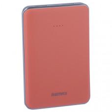 Аккумулятор внешний универсальный Remax RPP33-5000 mAh Tiger Power bank (2 USB: 5V-2.0A) Pink Розовый