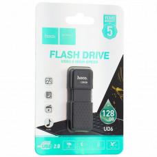 Флеш-накопитель Hoco UD6 Intelligent U disk 128Gb Черный