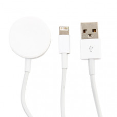 USB дата-кабель COTEetCI 2in1 Charging cable iPhone & Watch (CS5170-WH) 1м Белый