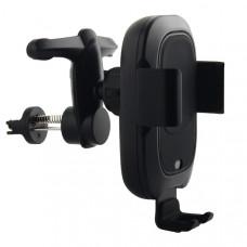 Автомобильное беспроводное Qi зарядное устройство Baseus WXZN-01 Smart Vehicle Bracket Wireless Charger (5V/2A, 9V/1.7A) Черный