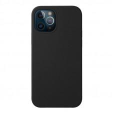 """Чехол-накладка силикон Deppa Liquid Silicone Case D-87708 для iPhone 12/ 12 Pro (6.1"""") 1.7мм Черный"""