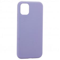"""Чехол-накладка силиконовая K-Doo iCoat Liquid Silicone для iPhone 11 (6.1"""") Серо-лавандовый"""