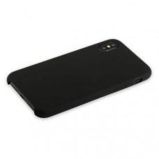 """Чехол-накладка силиконовый Hoco Silicone Case для iPhone XS/ X (5.8"""") Черный"""
