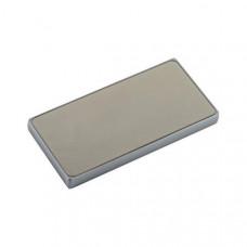 Аккумулятор внешний универсальный Remax PPP 12- 10000 mAh Proda Superalloy power bank (2USB: 5V-2.0A) Silver Серебристый