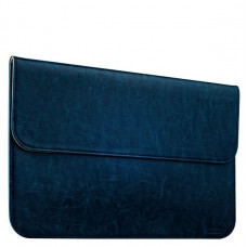 Защитный чехол-конверт i-Carer Genuine Leather Series для Apple MacBook Air 11 (RMA111blue) Голубой
