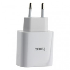 Адаптер питания Hoco C57A Speed charger PD+QC 3.0 set cable Type-C to Lightning (USB: 5V max 3.1A/ 18Вт) Белый
