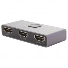 Переходник Baseus Matrix HDMI Splitter (2в1 или 1в2) (CAHUB-BC0G) Графитовый