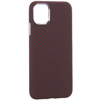 """Чехол-накладка кевлар K-Doo Kevlar для Iphone 11 (6.1"""") Красный"""