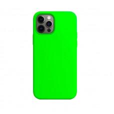 """Накладка силиконовая MItrifON для iPhone 13 Pro (6.1"""") без логотипа Green Салатовый №31"""