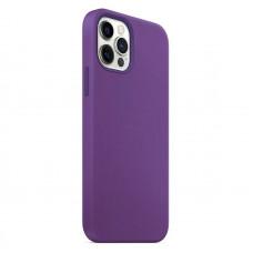 "Накладка силиконовая MItrifON для iPhone 13 (6.1"") без логотипа Dark Lilac Темно-сиреневый №61"