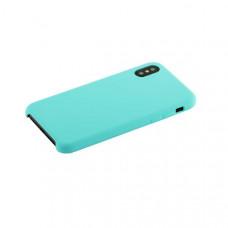 """Чехол-накладка силиконовый Hoco Silicone Case для iPhone XS/ X (5.8"""") Лазурный"""