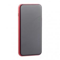 Аккумулятор внешний универсальный & беспроводное зарядное Baseus Bracket Wireless Charger (PPALL-EX09) 8000 mAh Красный