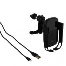 Автомобильное беспроводное Qi зарядное устройство Baseus WXHW01-01 Vehicle Mounted Holder Wireless Charger (5V/ 2A) Черный