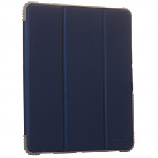 "Чехол-подставка Mutural Folio Case Elegant series для iPad Pro (12.9"") 2021г. кожаный (MT-P-010504) Синий"
