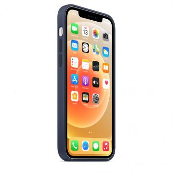 Силиконовый чехол MagSafe для iPhone 12 и iPhone 12 Pro