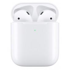 Apple AirPods 2 в футляре с возможностью беспроводной зарядки