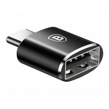 Адаптер Baseus USB female to Type-C male