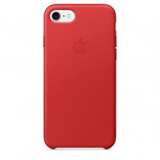 Чехол iPhone 7/8 Leather Case Red