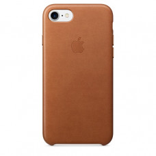 Чехол iPhone 7/8 Leather Case Saddle Brown