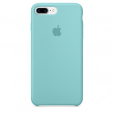Чехол iPhone 7/8 Plus Silicone Case Sea Blue