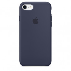 Чехол iPhone 7/8 Silicone Case Midnight Blue