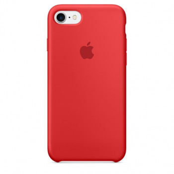 Чехол iPhone 7 Silicone Case Red