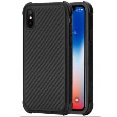 Противоударный карбоновый чехол Pitaka MagCase PRO для iPhone X черный KI8001XP