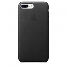Чехол iPhone 7/8 Plus Leather Case Black