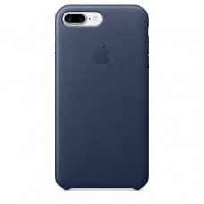 Чехол iPhone 7/8 Plus Leather Case Midnight Blue