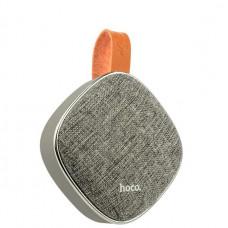 Портативный динамик Hoco BS9 Light textile desktop wireless speaker Gray Серый