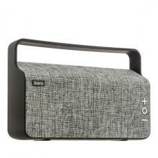 Портативный динамик Hoco BS10 Dibu desktop wireless speaker Gray Серый