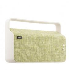Портативный динамик Hoco BS10 Dibu desktop wireless speaker Green Зеленый