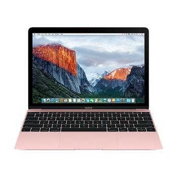 """Ноутбук MacBook 12"""" 2016 m3/8/256/Rose Gold MMGL2 Розовое золото"""
