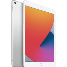 Планшет Apple iPad 10.2 (2020) Wi-Fi+Cellular 128GB Silver MYMM2RU/A