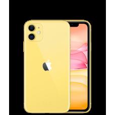 Apple iPhone 11 128Gb Dual SIM Yellow (Желтый) на 2 SIM-карты