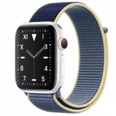 Часы Apple Watch Edition Series 5 GPS + Cellular 40mm White Ceramic Case with Alaskan Blue Sport Loop
